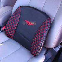 Classic wine red wine series car lumbar support back pillow lumbar pillow single
