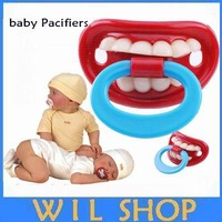 10pcs/lot!! Hot selling Funny baby pacifier  Baby Teether Pacifier Silicone soother