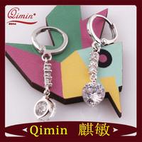 New Design  Crystal Drop Earrings white gold earrings For Women +Opp Packing,Fashion Jewelry Drop Earrings
