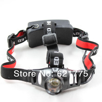 CREE Q5 18650 LED Waterproof Headlamp Zoomable Hiking Light Torch +AC Charger
