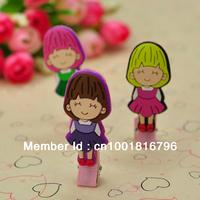 New Design Cartoon Girl Hairgrips Hair Clips Hair Pins/ Hair Accessories /Children Gift/ Factory Price Kids Hair Clip PJ054