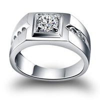 Men ring 925 pure silver ring male silver ring fashion male ring