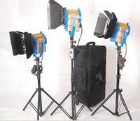 Bi Color 3 x 100W LED Fresnel Light Spotlight Spot Video Studio Lighting
