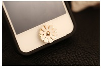 Free Shipping fashion small daisy key paste, hot sale