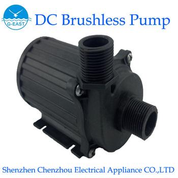 Submersible Pump ,DC Mini Pump,Solar pump,Fountain pump,CP60-1206(12V/4.8A,6M,2350LPH,Color:Black)