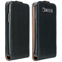 Genuine Leather Flip Case Skin Shell Cover For Samsung Galaxy S Advance I9070 Wholesales Free shipping PY