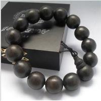FREEN SHIPPING! Natural osmanthus agarwood beads bracelets bracelet 15mm