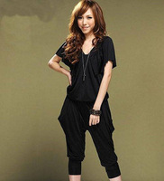 Fashion Women's Casual Hot Sale Jumpsuit  Piece Pant Harem Pants Free Shiping