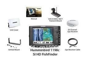 Humminbird 1198c SI HD Color GPS FishFinder New