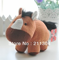 Free Shipping Hotsale Plush Toy 13x18cm standing super cute horse and vivid little pony kids toy plush toy stuffed animal