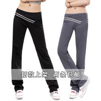 Trousers casual pants female slim  trousers plue size Spring 100% cotton loose Women sports pants trousers casual pants