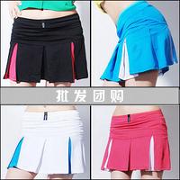 Hot sold 2013 NEW 100%cotton Summer culottes sports skirt tennis ball dress short skirt Women badminton skirt sports plus size