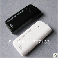 10PCS New Portable AA Battery Emergency USB Charger For for iphone 4&3G 3GS IPOD with flshlight