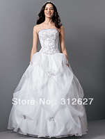 Free shipping wholesale  best-selling High quality  wedding dress A012