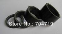 "NEW 3k full carbon 4pcs Carbon Headset Spacer 1 1/8"" 5-10-15-20mm"