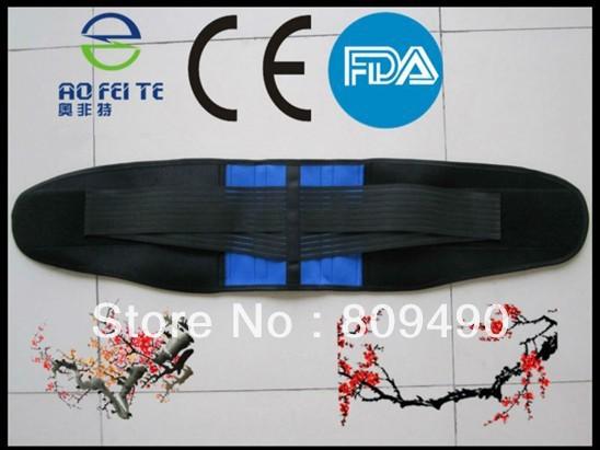 Double Layer Health Lumbar belt/Waist support belt FDA/CE approved(China (Mainland))