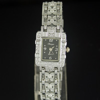 Xmas Gift! 1PC Silver Diamond Analog Woman Lady Girl Bling Quartz Bracelet Wrist Watches. Free & Drop Shipping