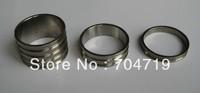 "Free shipping NEW Ti titanium Bicycle Bike Headset Spacers Set Stem 1-1/8""-3Pcs/1set  (5mm,10mm,20mm)"