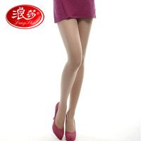 Langsha wire socks anti-uv women's ultra-thin Core-spun Yarn pantyhose