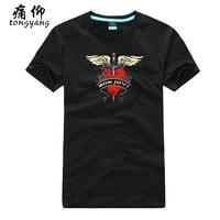 Plus size available diy male short-sleeve casual t-shirt bon jovi - 2