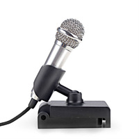 3.5mm Mini Mic Tiny Microphone for PC Laptop MSN Skype , Free / Drop Shipping