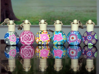 New Arrival ! Wholesale Polymer  Perfume Bottle Empty In Mixed Color  Of 6ml