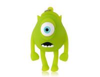 Wholesale Single-Eyed Cartoon USB Flash Drive (Green) 1GB 2GB 4GB 8GB 16GB 32GB