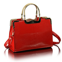 Free shipping Fashion embossed women's handbag  all-match portable messenger bag 7colors