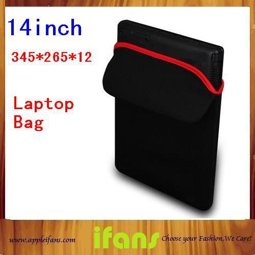 Reversible Sleeve Case Bag for Laptop computer Notebook Neoprene laptop cover 12 13 14 inch(Hong Kong)