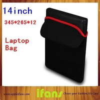 Reversible Sleeve Case Bag for Laptop computer Notebook Neoprene laptop cover 12 13 14 inch