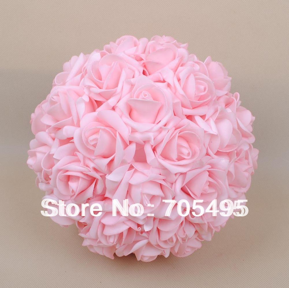 9 23cm Artifiical Kissing Foam Rose Flower Ball