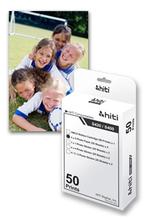 100% original hiti s420 printer consumíveis s420 50 folhas papel fotográfico papel, um rolo de fita para impressão 50 folhas frete grátis(China (Mainland))