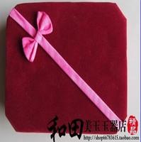 FREE SHIPPING! Jewelry box bracelet box quality bracelet box red bracelet box jade packaging box