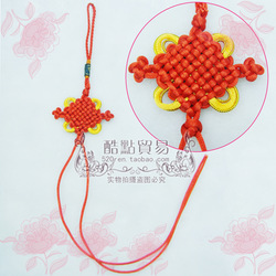 Ruyi knot chinese knot car hanging cross chinese knot(China (Mainland))