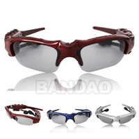 Sunglasses Mp3 Player Sun Glass  Headset  2GB multi-color Blue red silver