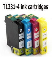 For Epson ink 133(1 set+1 Black T1331) for Epson Stylus T12/T25/TX120/NX130/NX230/NX430/WorkForce 320 Printer Cartridge