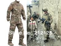EMERSON CP R6 Perfect Version Combat Anti-scrape Outdoor Suit&Pants Uniform Grid Cloth BD6889 free shipping