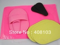 Hair Removal Pads Wipe off  Unwanted Hair  and Sheer Skin  Inatsnatly Removal & Exfoliator Pad 1Sets/Lot