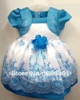 Girl dress baby girl Pompon veil dress 56664