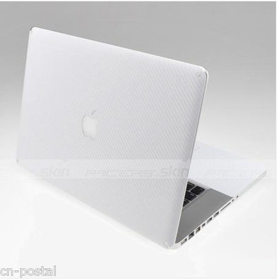 3D Carbon Fibre Skin Cover Outer Sticker Protector Soft case MacBook Pro 15.4(China (Mainland))