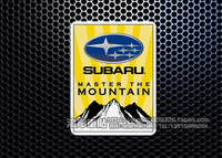 Car sticker reflective car stickers refires outdoor for Subaru xv forester outback
