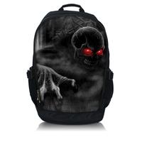 Skull Laptop Backpack Sling Bag Rucksacks Book School bags up to 15.6 inch