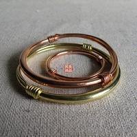 Moon bay red brass bracelet child adult paragraph of unique adjustable measurement 6 d6 , 6d60