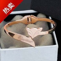The manufacturers wholesale special fox bracelet Ms. bracelet rose gold bracelet hand ring single price KS-010