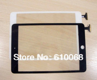 Wholesale !! High quality Digitizer touch screen replacement for ipad mini,color black&white