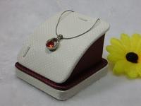 Corniculatum pendant jade pendant bracelet holder bracelet holder necklace knitted leather large single