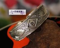 National trend handmade silver bracelet silver bracelet 480