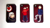 Free Shipping case for iphone4 4s shell WC king