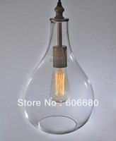 IKEA modern personality Nordic American, minimalist glass crystal white bottle chandelier rustic lighting free shipping