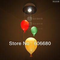 [ Designer lamps ] Colour Ballon Children Room trumpet colored balloons chandeliers